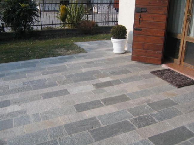 Pavimenti per giardino in pietra - Pavimenti per esterno offerte ...