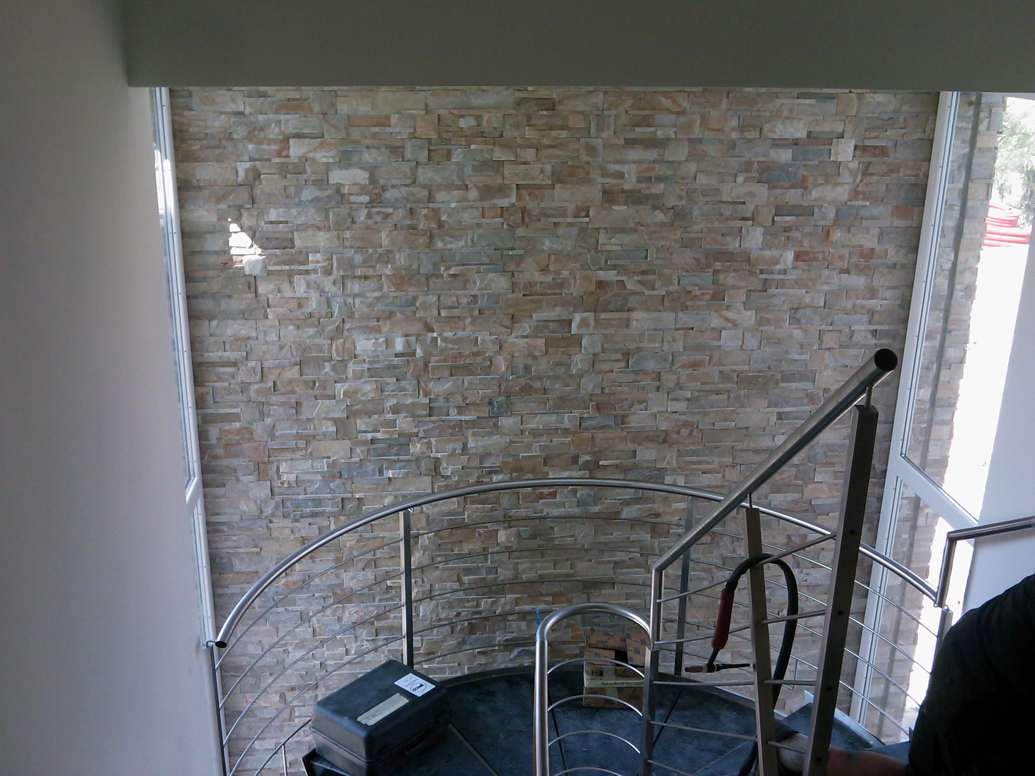 Novit rivestimento parete in quarzite naturale - Rivestimento parete interna ...